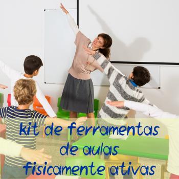 kit de ferramentas de aulas fisicamente ativas